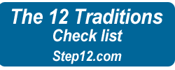 12 Traditions Checklist