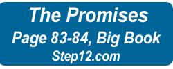 12 Step AA PROMISES Step 12 Promises