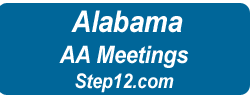 AA Meetings Alabama Logo